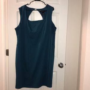 Plus Dress 👗 24 fabric poly/rayon NWT